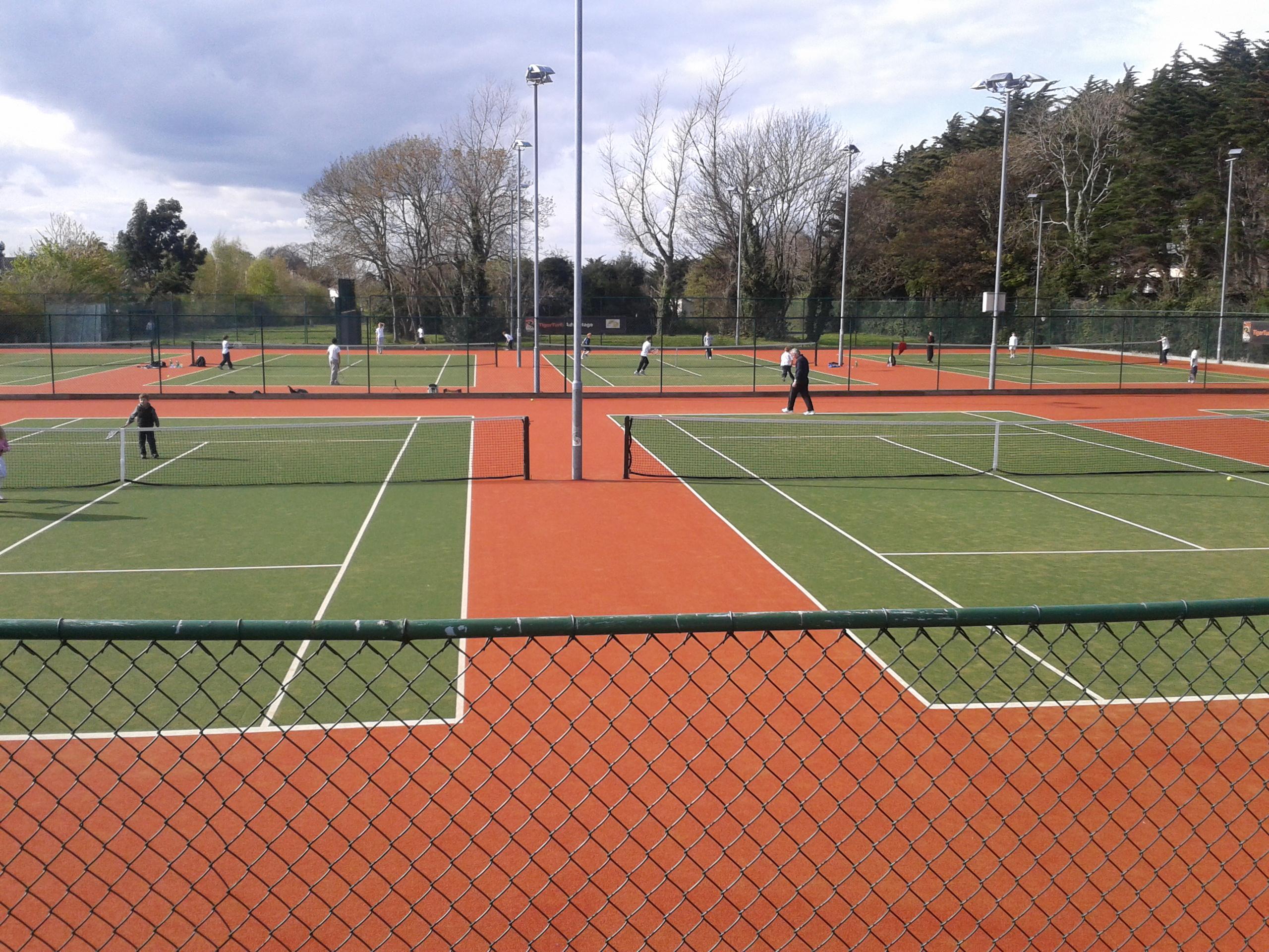 Leopardstown Tennis Club Courts